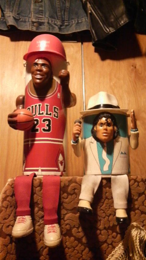 僕の部屋のマイケルジャクソンとマイケルジョーダン