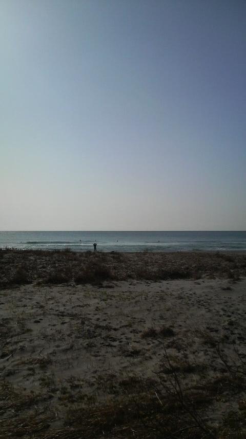休日サーフィン