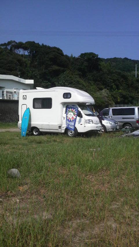キャンピングカー旅行 名古屋に無事到着